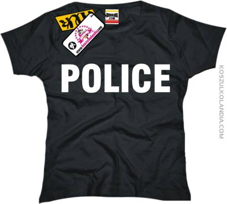 POLICE - koszulka damska
