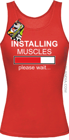 Installing muscles please wait... - Top damski