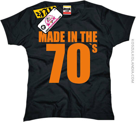 Made in the 70 `s GIRL