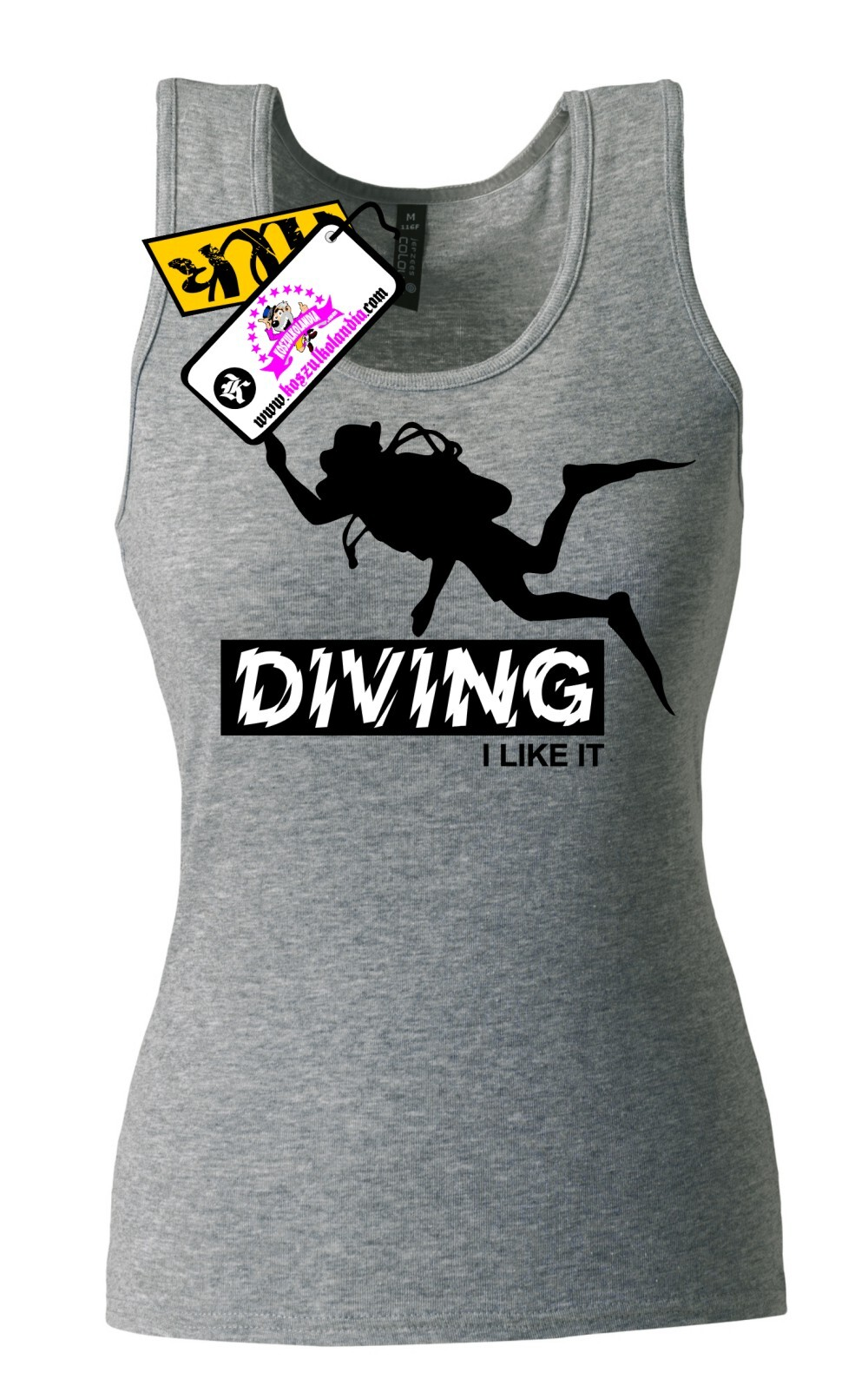 DIVING I LIKE IT - Top Damski