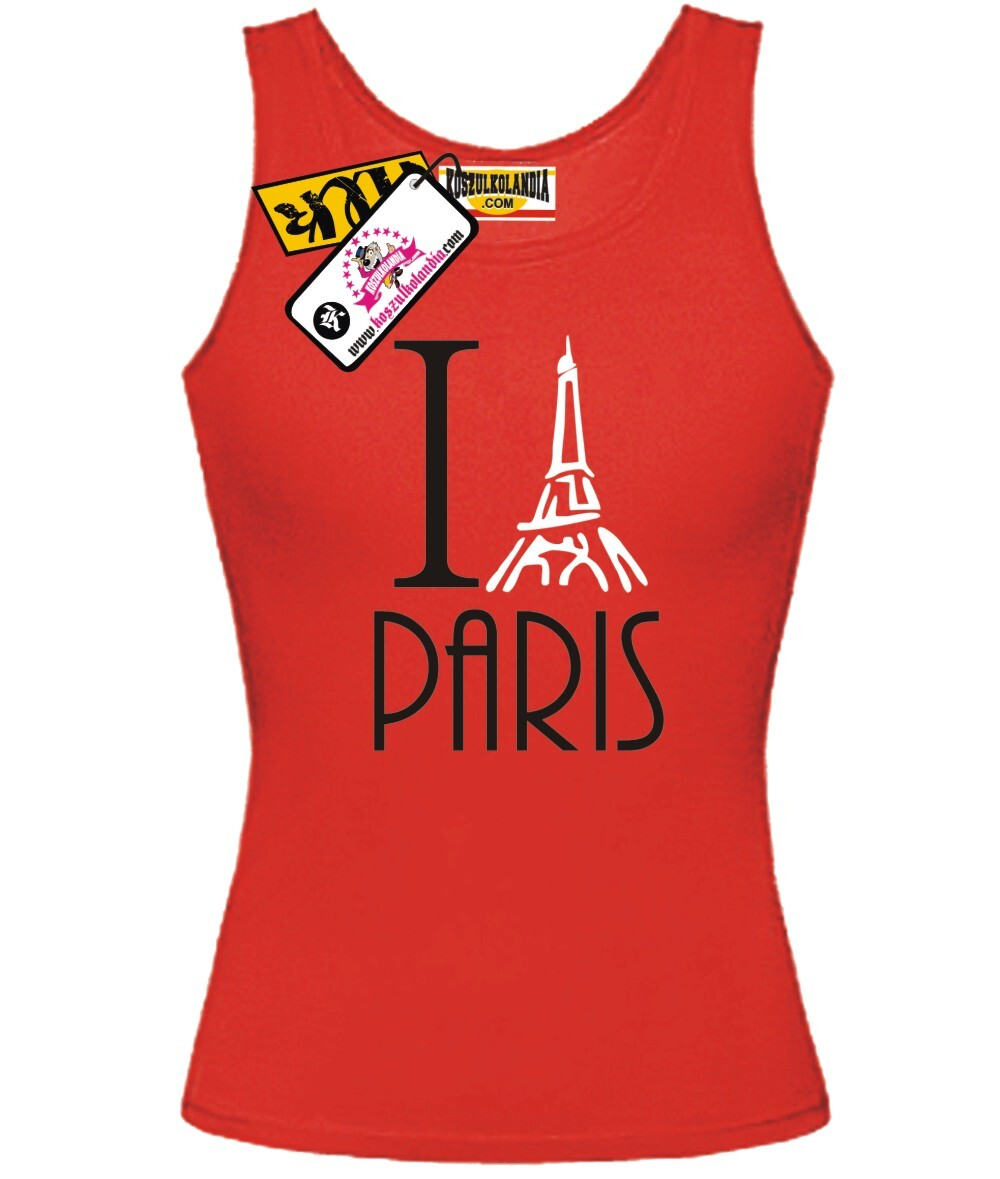 I Love Paris - Top Damski
