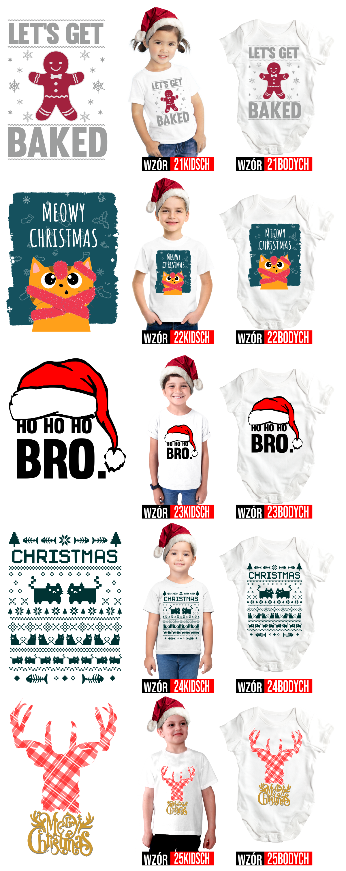 lets baked christmas tshirts for kid