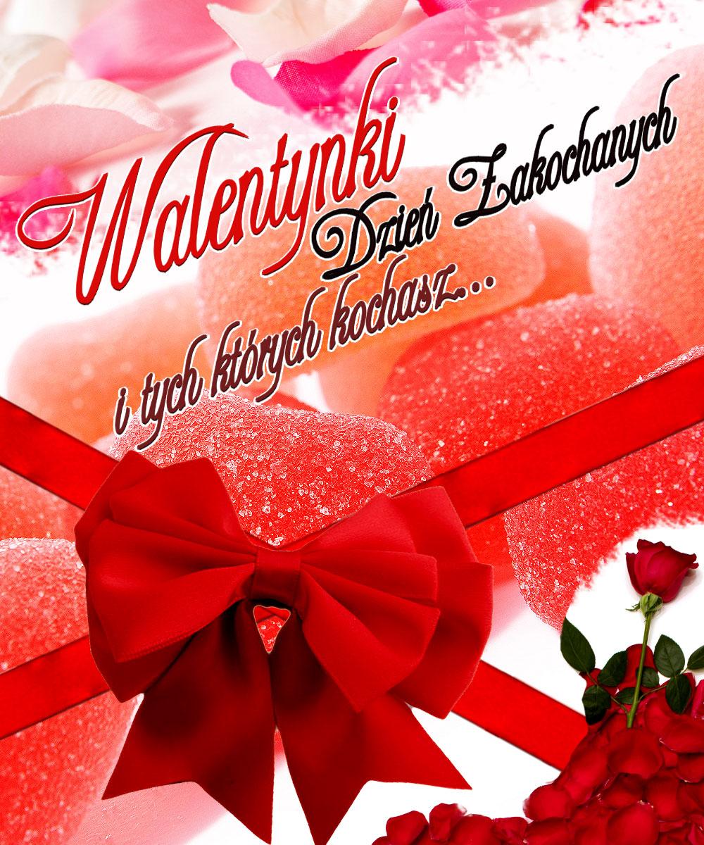 WALENTYNKOWY OBRAZEK KOSZULKOLANDII - Dzień zakochanych i tych których kochasz dzień walentego Walentynki WARSZAWA KRAKÓW KATOWICE