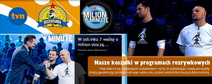 Milon w minute Koszulki Górnik zawsze wchodzi najglebiej firma KOSZULKOLANDIA