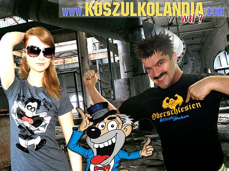 Oberschlesien Górny Śląsk koszulka dla hanysa ŚLUŃSKI HAHAR