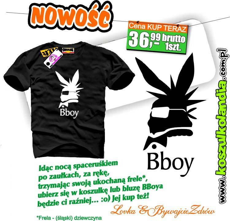 BBoy Bad Boy koszulka BADBOY
