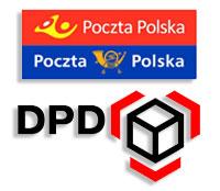 POCZTA POLSKA KURIER DPD - obsługa dostaw paczek ze sklepu koszulkolandia.com