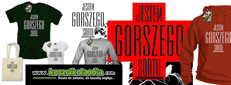 jestem gorszego sortu koszulki bluzy odzież polityka polska