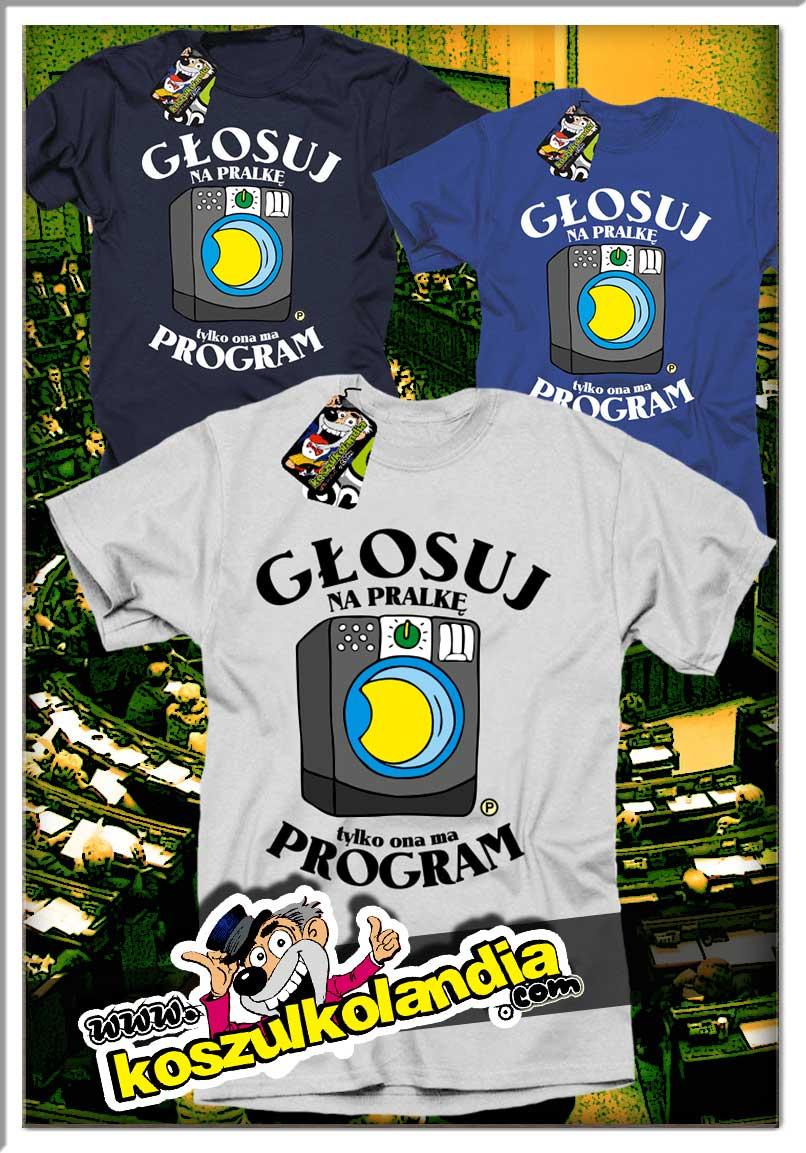 koszulkolandia idzie na wybory koszulki polityczne