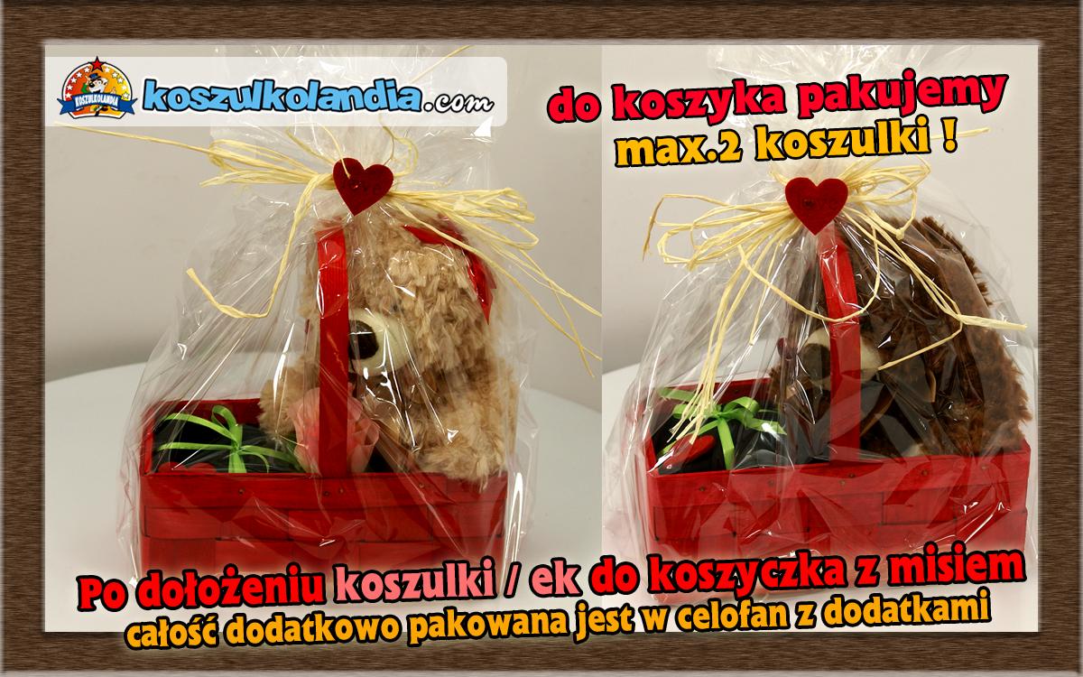 pakowanie misiowe na prezent koszulkolandia misie na pakowanie