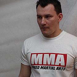 koszulka sztuki walki dla zespolów sportowych MMA Mixed martial arts