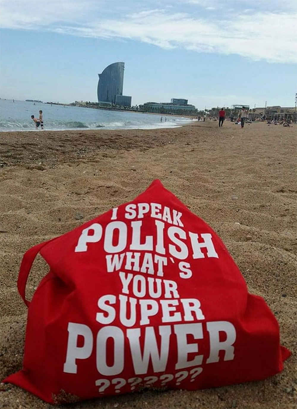I speak polish what is your super power torba klientki w barcelonie