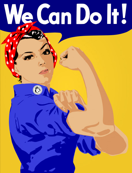 we can do it woman days kobiet dzień koszulkolandia